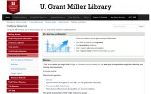 Washington & Jefferson College Political Science Data Guide