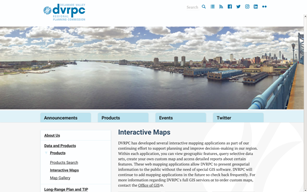 DVRPC Interactive Web Maps