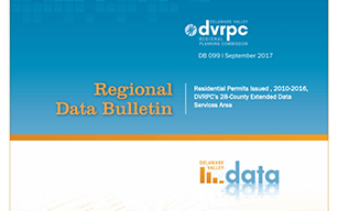 DVRPC Residential Building Permits, 2010-2016 DVRPC's 28-County Extended Data Services Area