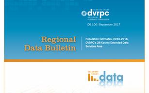 DVRPC Population Estimates, 2010-2016, DVRPC's 28-County Extended Data Services Area