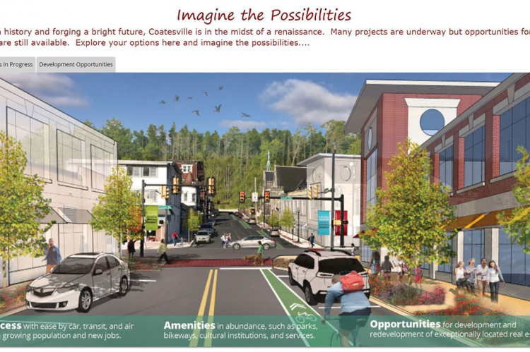 Interactive Map Highlights Projects in Coatesville – Chesco Planning
