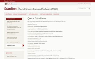 Stanford SSDS