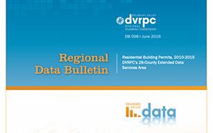 DVRPC Data Bulletin #098: Residential Building Permits, 2010-2015
